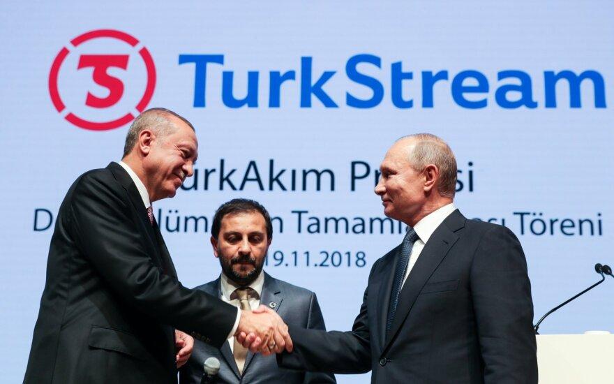 Erdoganas ir Putinas