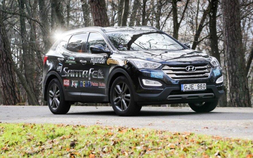 """""""Hyundai Santa Fe"""" – atletiškas visureigis"""