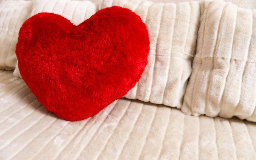 Kaip miegamojo spalva veikia jūsų seksualinį gyvenimą