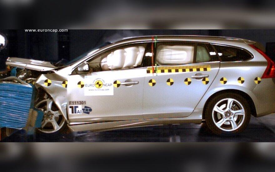 Euro NCAP bandymai: Volvo V60