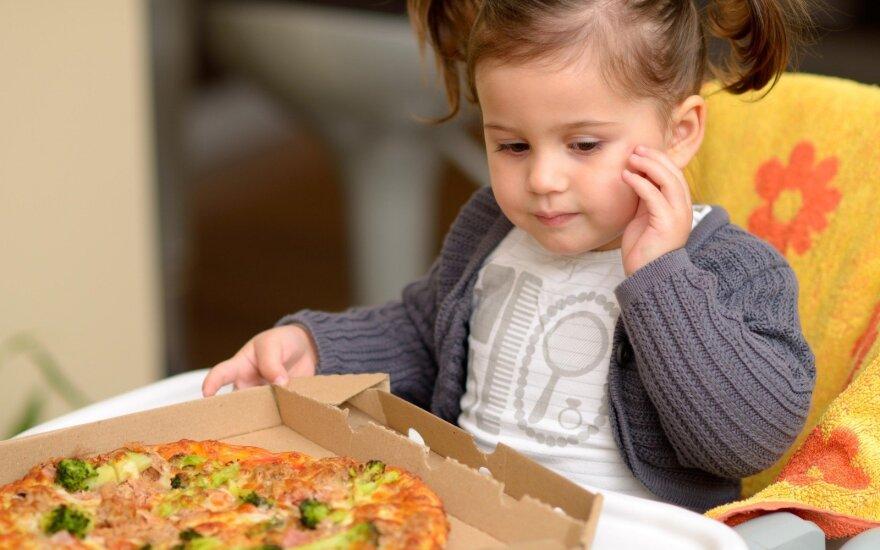 Vaikų sveikata – tėvų gyvensenos atspindys