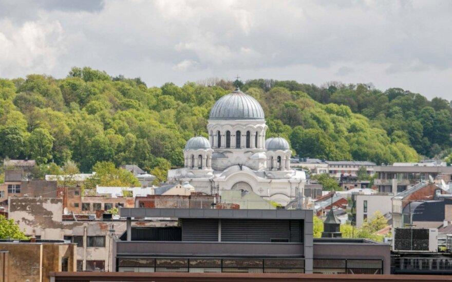 Kaunas nuo miesto savivaldybės stogo