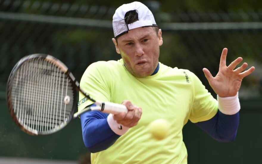 ATP turnyre Olandijoje – D. Goffino, I. Marčenkos ir prancūzų pergalės