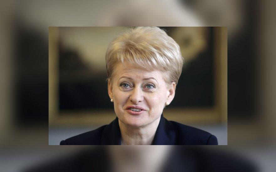 """D.Grybauskaitė palaimino """"Leo LT"""" išformavimą, abejoja naujos atominės reikalingumu Lietuvai"""
