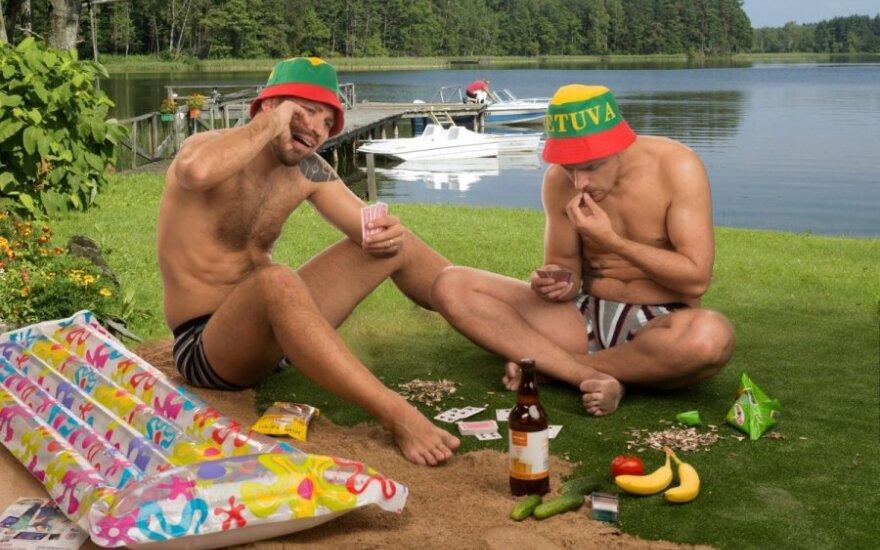 Kaip atrodo Lietuvos vyrai paplūdimiuose
