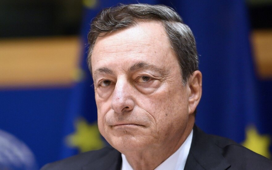 ECB's Draghi hints at new institution for fighting money laundering