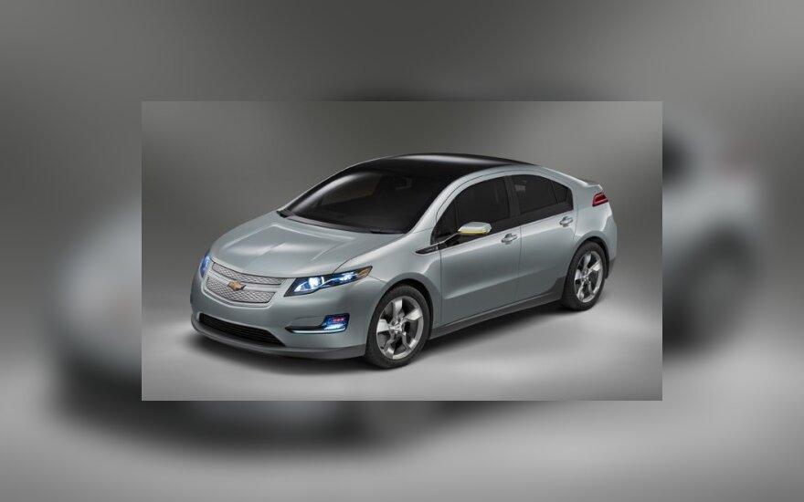 """General Motors"" planas - 40 tūkst. elektromobilių"
