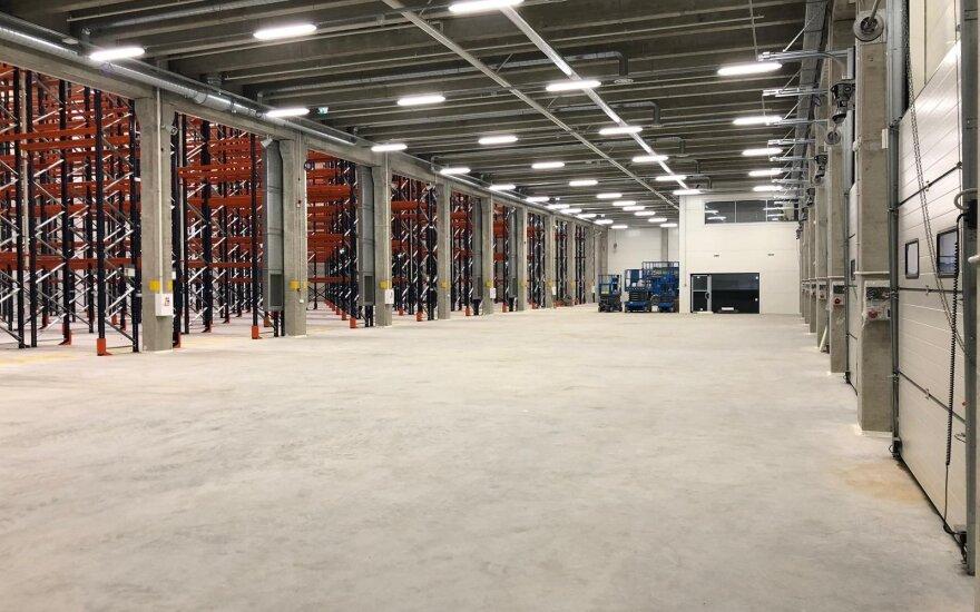 """""""Hegelmann"""" plečia logistikos centrą – investavo 2,7 mln. eurų"""