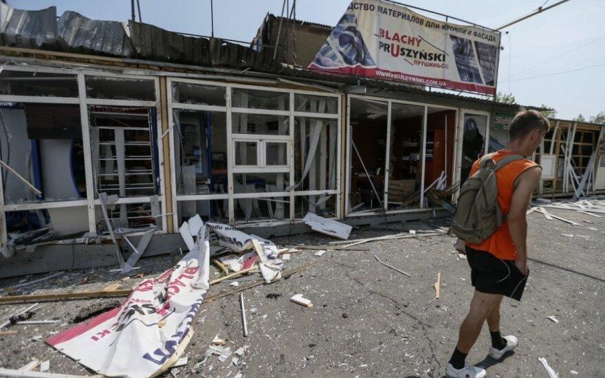 Ukraina: separatistai užgrobė pasienio punktą ir atvėrė sieną