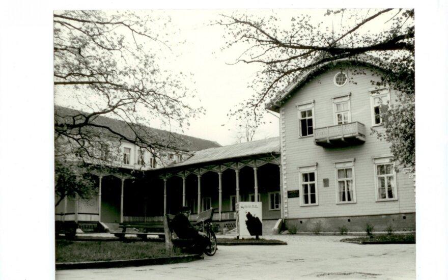 Istorinė Palangos kurhauzo nuotrauka