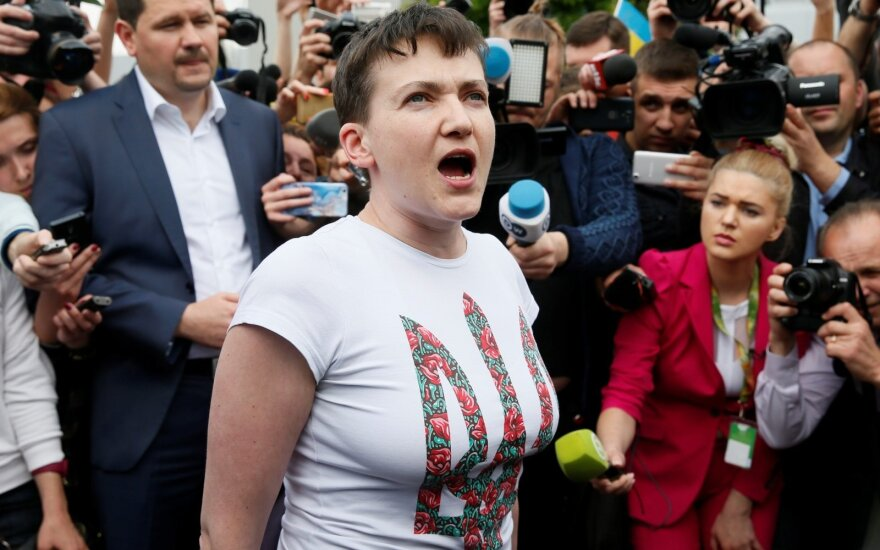 Former Russian prisoner Nadiya Savchenko planning visit to Lithuania