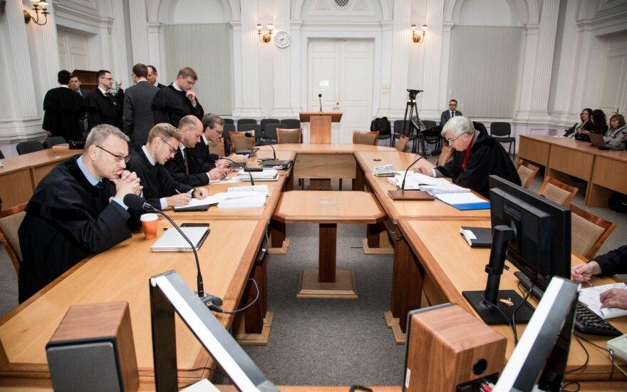 """""""MG Baltic"""" bylos posėdyje teisėjai apsispręs, ar išleisti Steponavičių vykti į Jordaniją"""