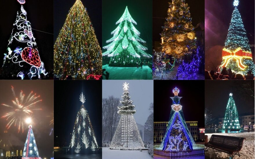 Lithuania's Christmas tree competition: choose the nicest