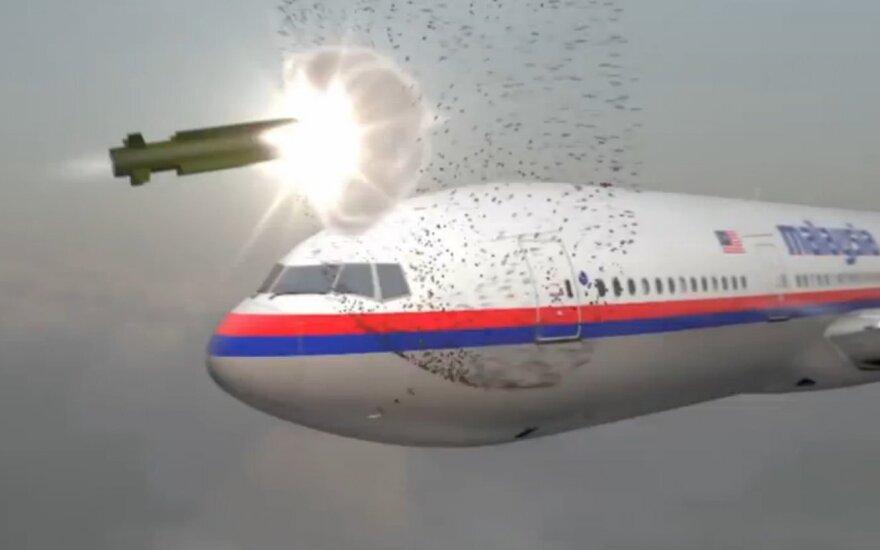 Paskelbė Rusijos karių, prisidėjusių prie MH17 katastrofos Ukrainoje, sąrašą