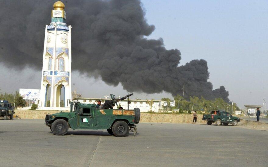 Kabule per Talibano ataką sužeisti trys kroatų kariai