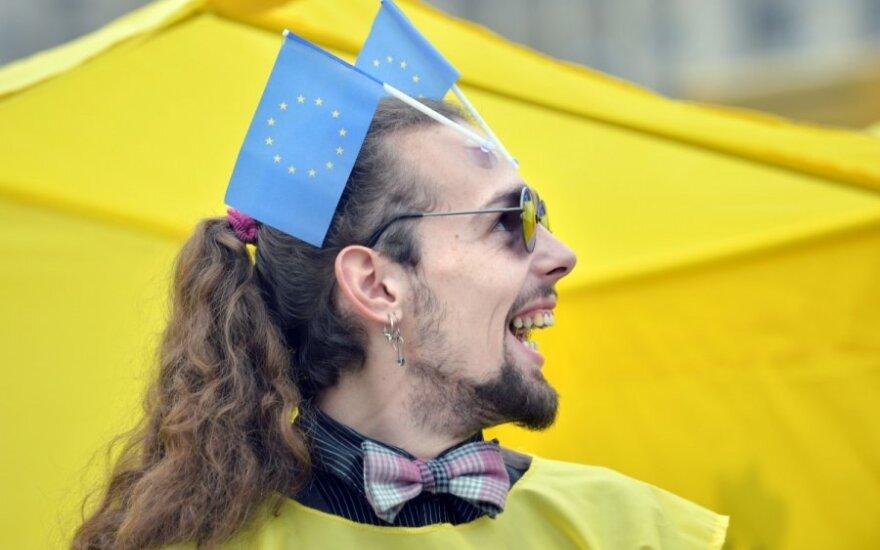 Ukrainos ateitį nulems EP rinkimų baigtis