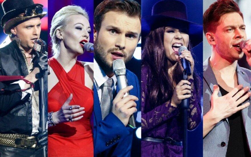"""""""Eurovizijos"""" dalyviai"""