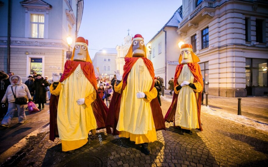 17th annual Epiphany procession made way through frozen Vilnius