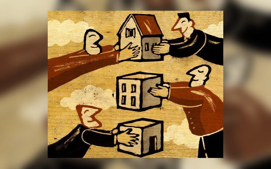 Savivaldybėms nesiseka išparduoti savo turto