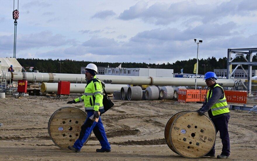"""Vokietijos valdantieji rado būdą, kaip apeiti ES apribojimus """"Nord Stream 2"""""""