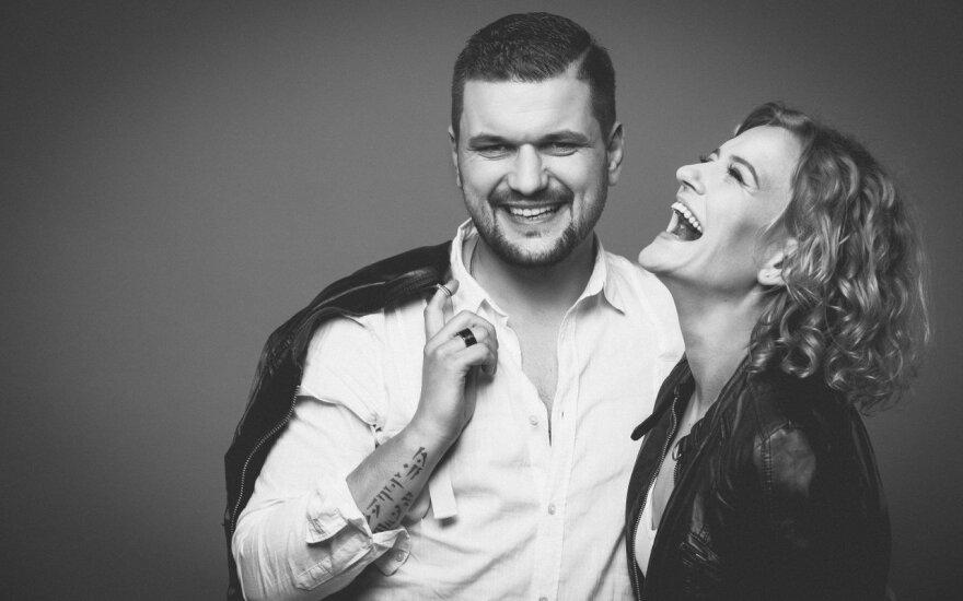 Laura Paukštė ir Dominykas Kubilius