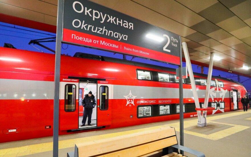 Traukinys Rusijoje