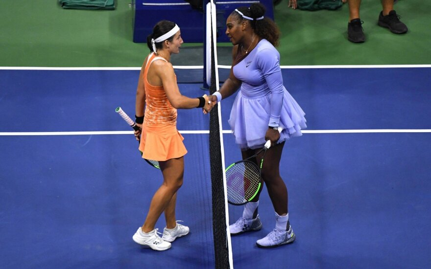 Anastasija Sevastova, Serena Williams