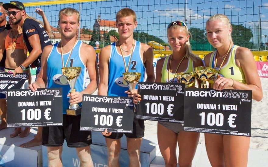 Paaiškėjo Lietuvos paplūdimio tinklinio čempionai