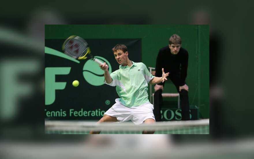 """L.Grigelio ir R.Berankio pergalės """"Futures"""" serijos turnyruose"""