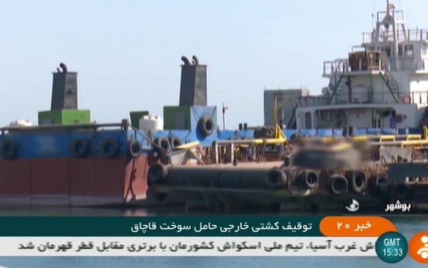 Iranas sulaikė Irakui priklausantį tanklaivį
