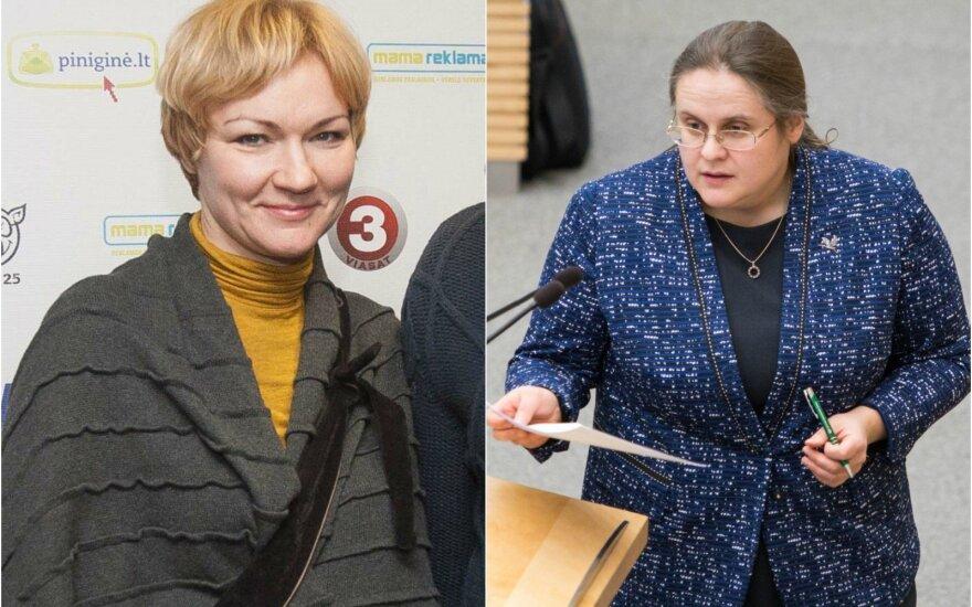 Rasa Jakilaitienė ir Agnė Širinskienė