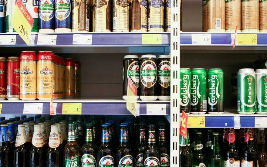 Lithuanian PM wants to ban alcohol sales in petrol stations