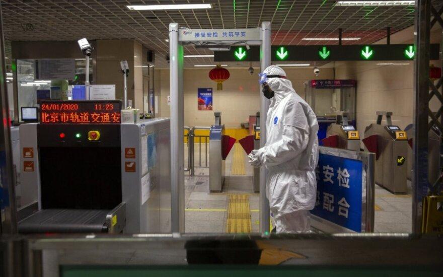 Kinija patvirtino 2,7 tūkst. užsikrėtimo naujuoju virusu atvejų, 40 atvejų – kitose šalyse