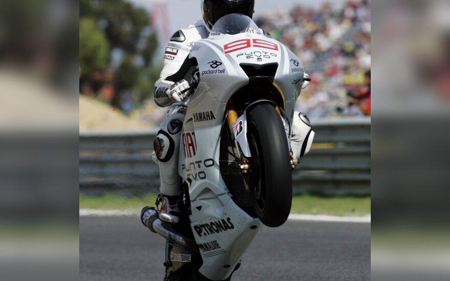 "Jorge Lorenzo su ""Yamaha"""