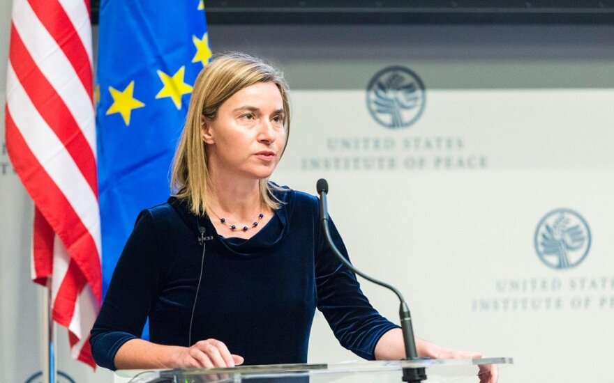 EU High Representative Federica Mogherini   Photo Ludo Segers