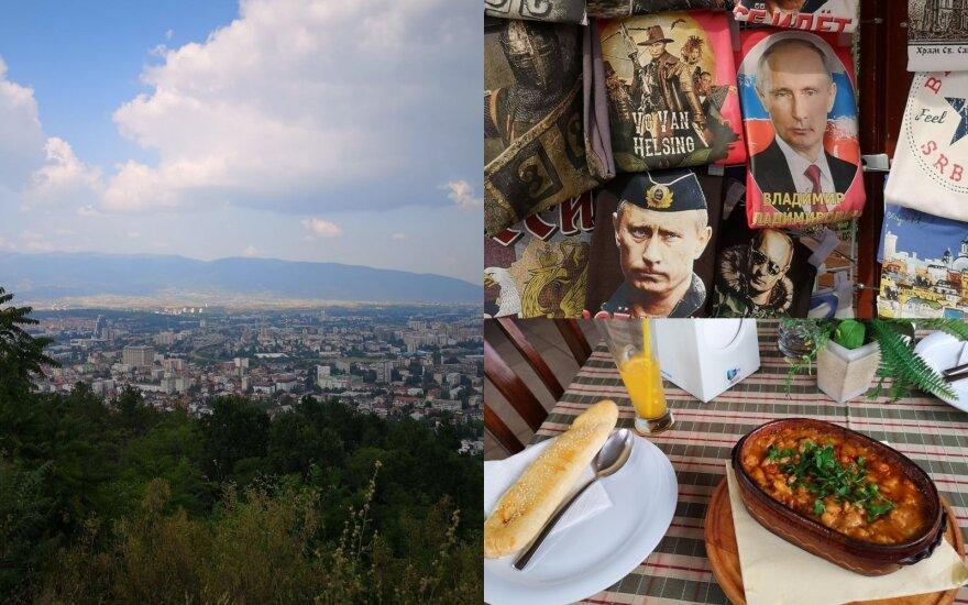 Automobiliu per Balkanus: Serbija nustebino viešu prielankumu Rusijos valdžiai