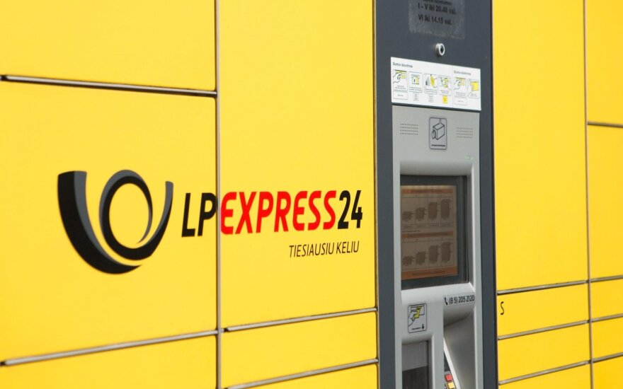 Lithuania Post Express 24 terminal