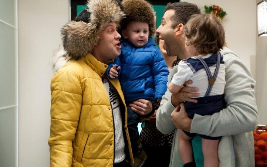 """Timuras Bekmambetovas apie komediją """"Eglutės 3"""": tai – labai ryškus, šviesus ir juokingas filmas"""