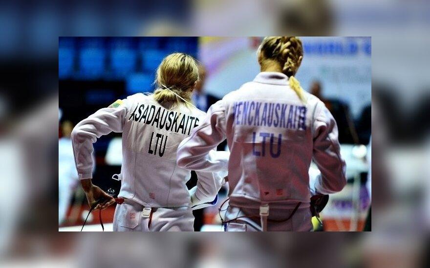 Laura Asadauskaitė ir Gintarė Venčkauskaitė (pentathlon.org nuotr.)