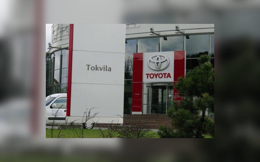 """""""Toyotos"""" Baltijos šalių kėbulo remonto bei dažymo meistrų konkurse nugalėjo """"Tokvilos"""" atstovai"""