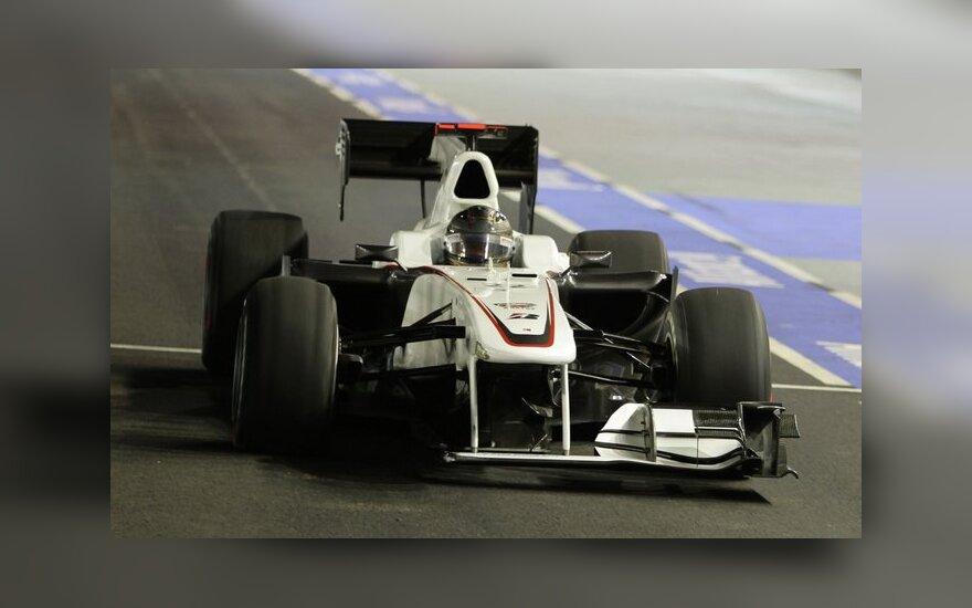 """""""Sauber Formula One"""" komandos automobilis"""