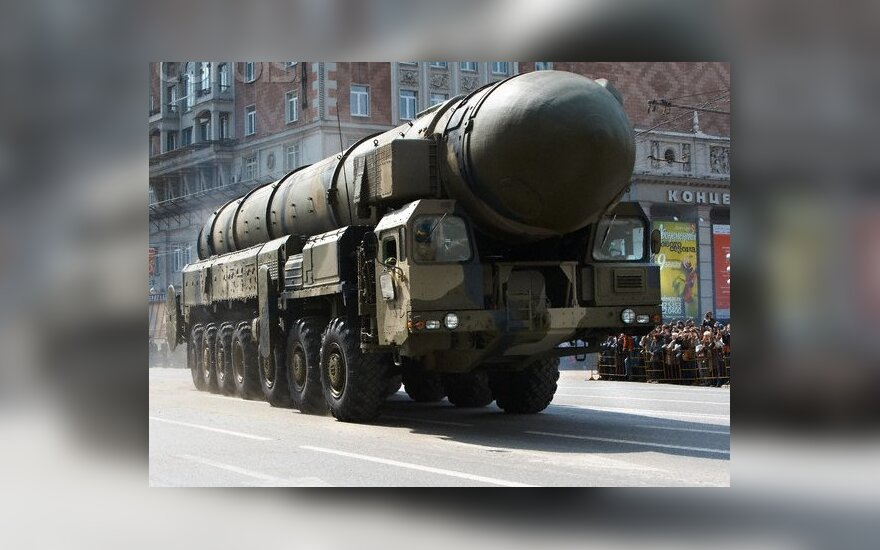 Lithuanian formin expects US to make Russia keep to nuclear weapons treaty