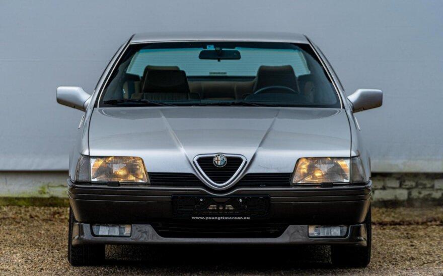 """""""Alfa Romeo 164"""" – paskutins nepriklausomo gamintojo automobilis. Autoplius.lt nuotr."""