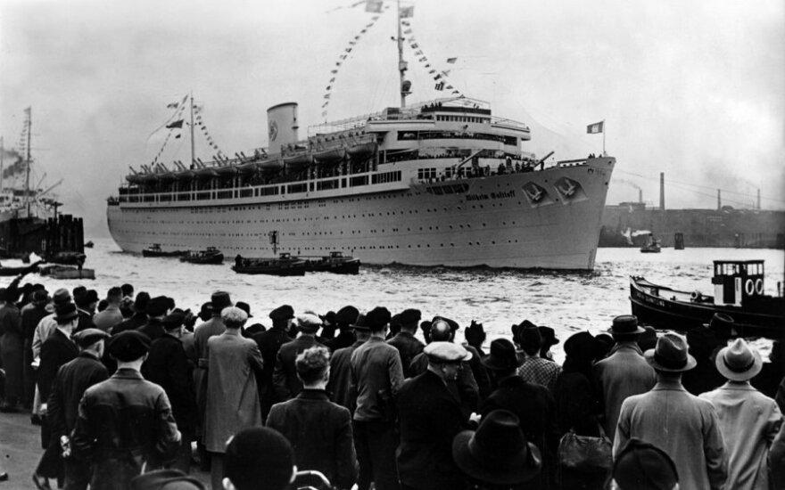 Wilhelm Gustloff po kelionės Viduržemio jūroje
