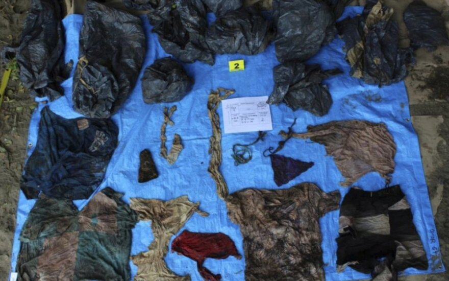 Verakruzo masinėje kapavietėje rasti 116 palaikai