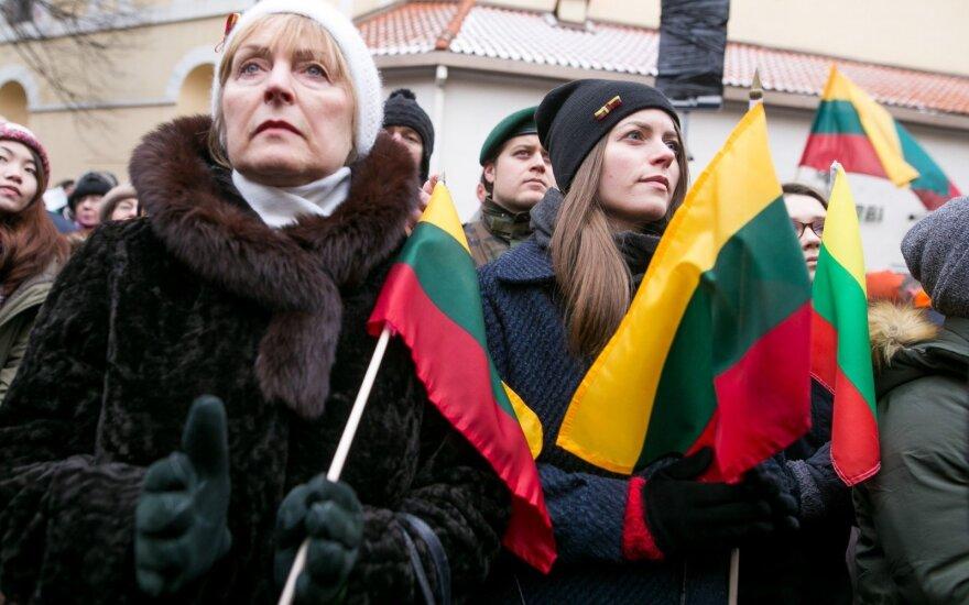 On the Pilies Str, in Vilnius