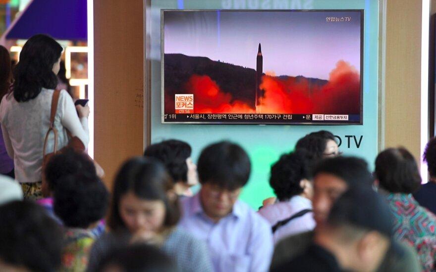 Rusija sveikina Šiaurės Korėjos sprendimą dėl branduolinių bandymų nutraukimo