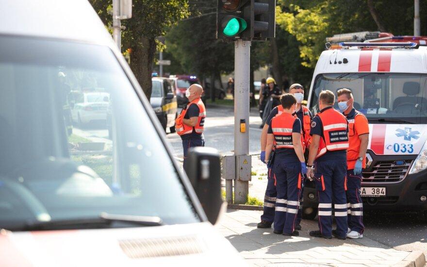Vilniuje nugriaudėjo dar vienas sprogimas: incidentas įvyko požeminėje automobilių stovėjimo aikštelėje