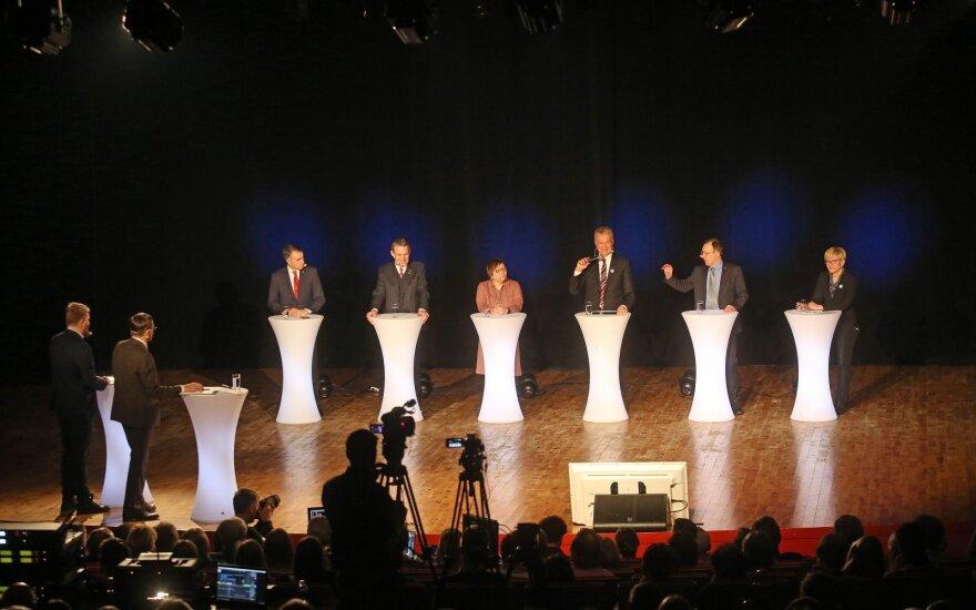 Kandidatų į Lietuvos prezidentus debatai