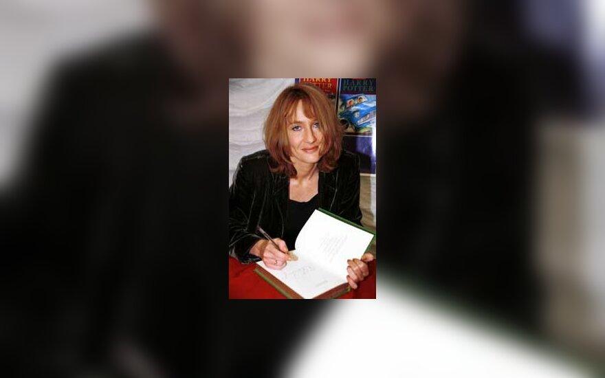 """Joane Rowling, """"Hario Poterio"""" autorė"""